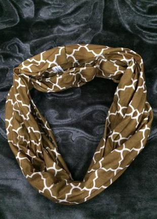 Хомут шарф з кишенькою