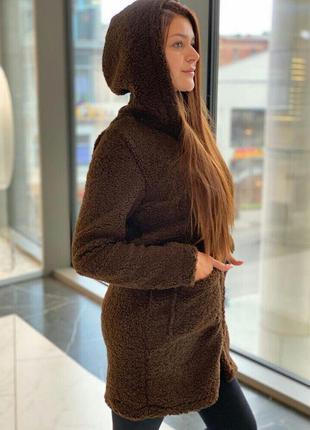 Женские теплые пальто кардиганы