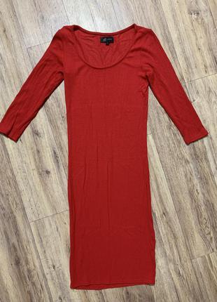 Трикотажное платье по фигуре
