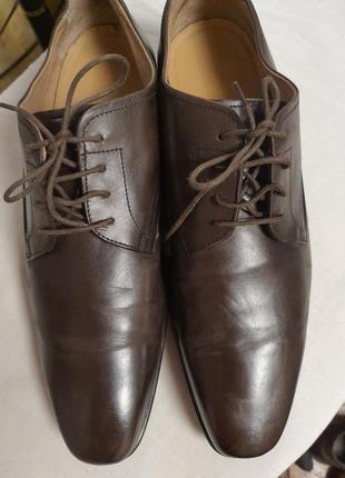 Италия! туфли jones 42 p (28 cm) натуральная кожа