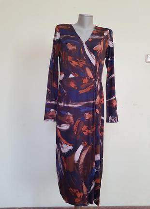 Базовое качественное трикотажное платье marks &spencer