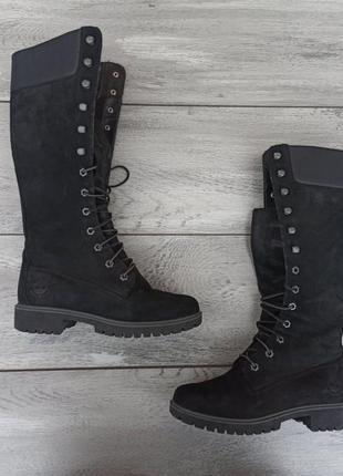 Timberland premium boots женские зимние ботинки кожа оригинал 37 размер