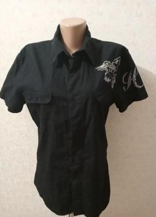 Рубашка 44 р.100% коттон