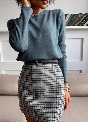 Шерсть кашемир свитер джемпер