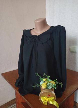 Шикарная черная блуза