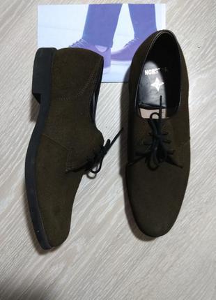 Туфлі замшеві 42 розмір nordstar