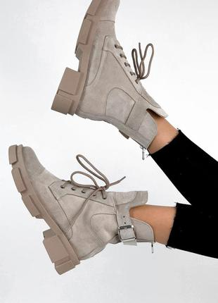 Р. 36-41 замшевые ботиночки