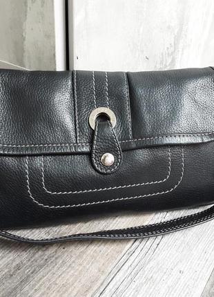 Кожаная стильная сумка tula.