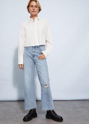 Крутые широкие джинсы h&m