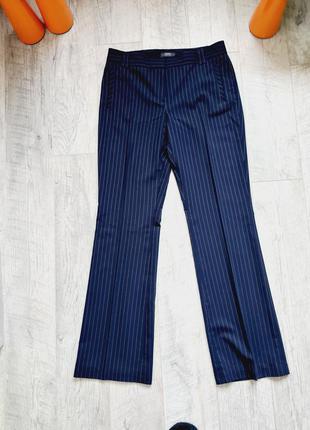 Классические брюки штаны со стрелками в полоску