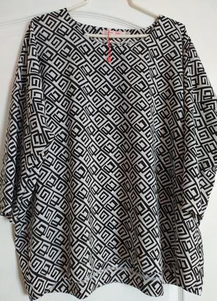 Блуза кофта туника р. 54-56