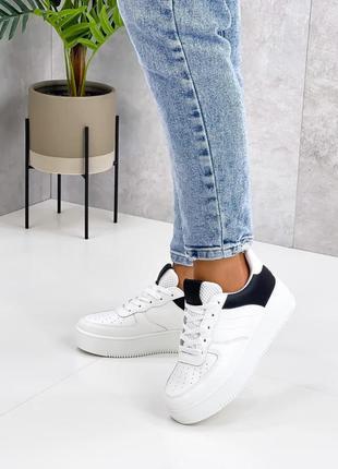 Акция кеды женские белые кеди кросівки жіночі білі
