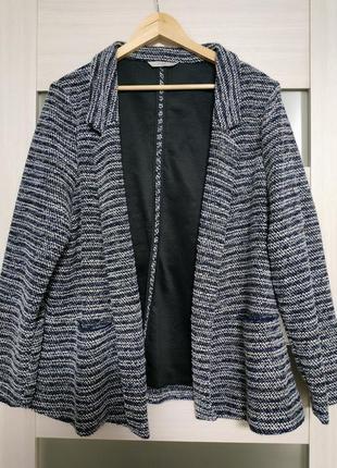 Пиджак жакет букле большой размер george