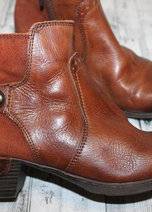 Шикарные кожаные ботинки pikolinos