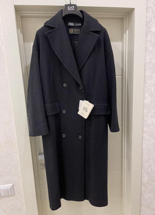 Стильное шерстяное пальто zara лимитированная коллекция!!!