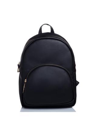 Рюкзак жіночий стильний чорний женский