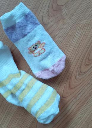 Носки на дівчинку 6-12м набір