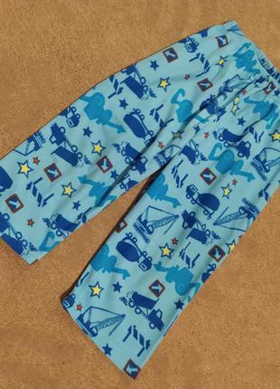 Пижамные штаны флисовые