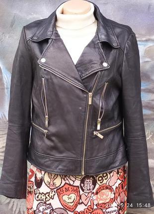 Кожаная куртка курточка косуха 100%кожа
