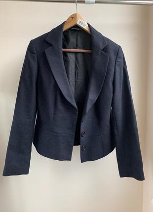 Шерстяной пиджак laura ashley