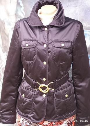 Куртка курточка с латками на рукавах,премиум бренд, оригинал