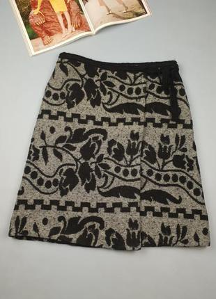 Теплая юбка на запах benetton p.40/12