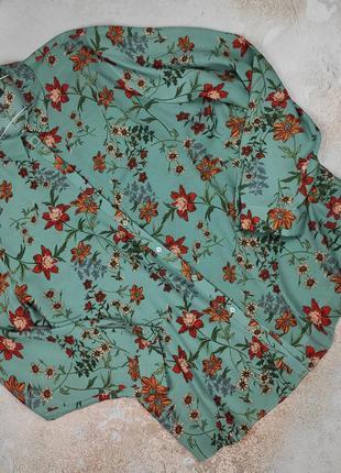 Блуза рубашка новая стильная большого размера uk 20/48/3xl