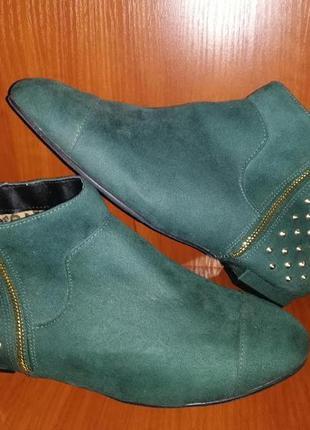 🌹🌹🌹новые женские ботинки на низком ходу, полуботинки на широкую ногу catwalk collection🌹🌹🌹