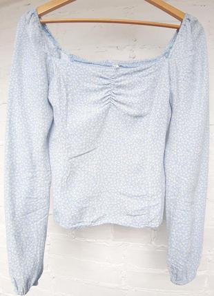 Блуза, кофта с квадратным вырезом