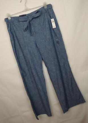 Штаны брюки новые модные хлопок оригинал gap uk 14/42/l