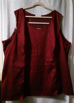 Женская блуза, вечерняя блузка большой размер,батал в подарок при покупке от 300грн.на большую грудь