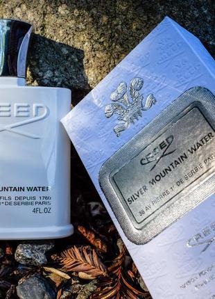 Creed silver mountain water 3 мл оригинал затест распив и отливанты