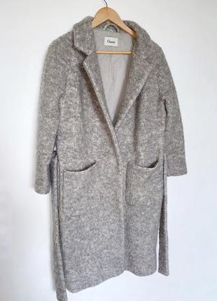 Пальто на запах ganni люкс