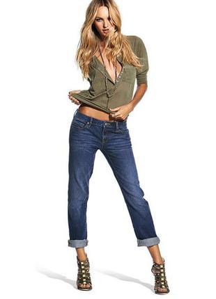 Джинсы  victoria's secret boyfriend jeans for women