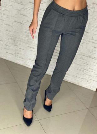 Женские брюки теплые леггинсы,брюки  теплая ткань