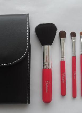 Набор кистей для макияжа ovonni-5 w/mirror1