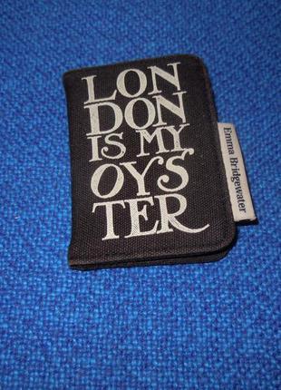 Брендовая визитница emma bridgewater, футляр для карточек, мини кошелёк.