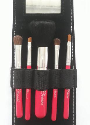 Набор кистей для макияжа ovonni-5 w/mirror2