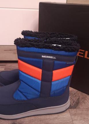 Зимние ботинки merrell  р 38-39 оригинал