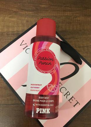 Спрей для тела passion punch pink victoria's secret