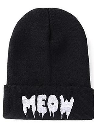 13-255 стильна модна шапка meow