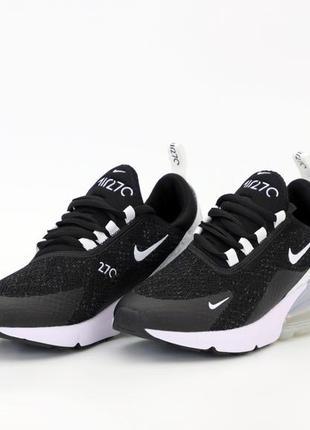 Шикарные кроссовки унисекс nike air max 270 наложка