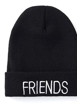 13-256 стильна модна шапка friends