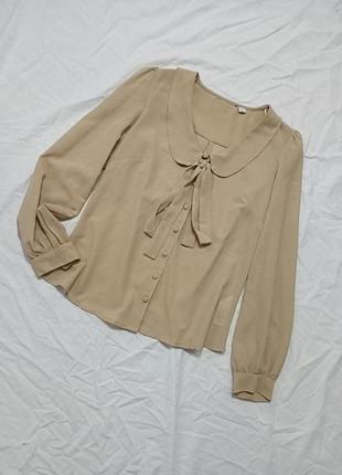Винтажная рубашка с воротником