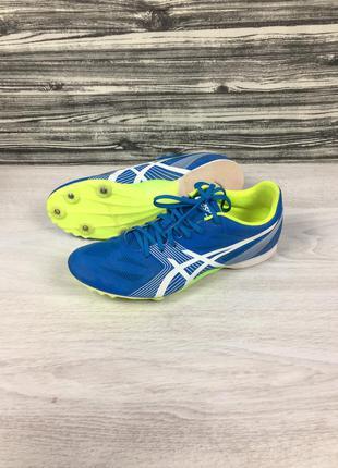 Шиповки обувь для бега спринта asics hyper md g502y с шипами mizuno