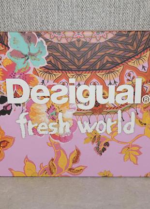 Desigual fresh world подарочный набор для женщин оригианал