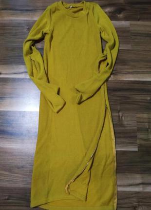 Эксклюзивная модель платье с рукавичками на замочках