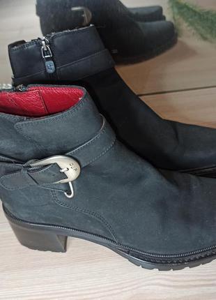 Кожаные ботинки donald j pliner