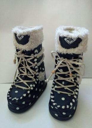 Потрясающие угги, луноходы moon boots от roxy 40-41 рр