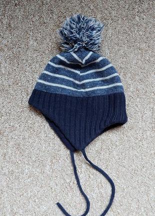 Демисезонная шапочка h&m,1-2 года